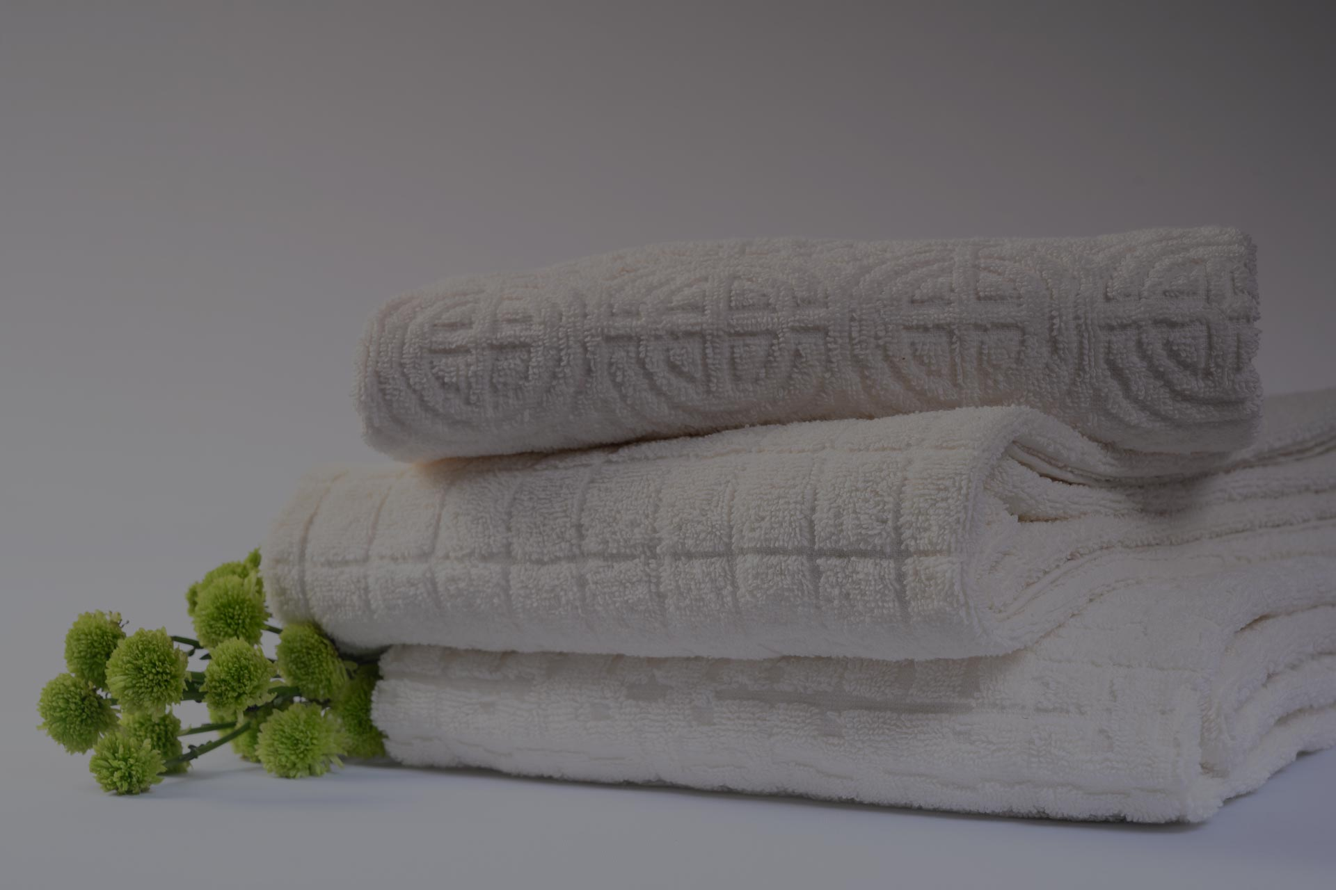 Piece Dyed Jacquard Bath Towels at Amber International