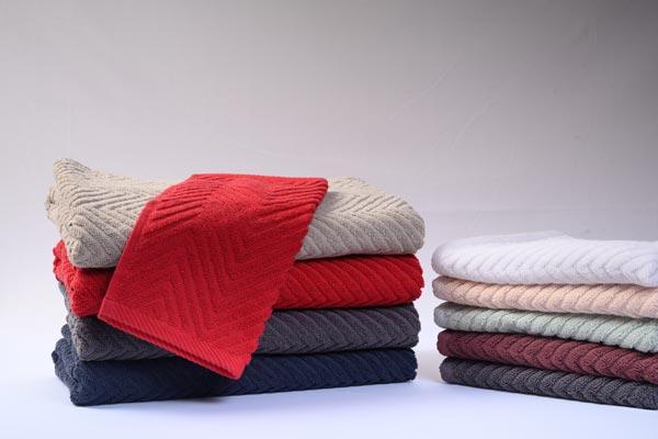 Dyed Bath Towels-Bath Towels