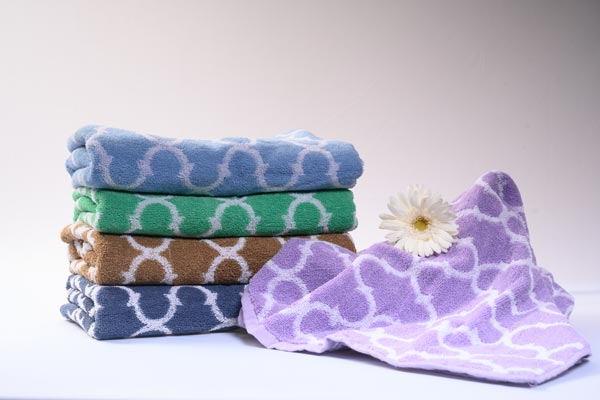 Jacquard Bath Towels-Bath Towels